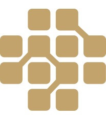 icon connecting squares